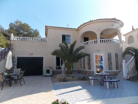 This beautiful, spacious luxury detached villa is situated in a quiet location of San Miguel De Salinas. The property comprises of lounge/dining area, well equipped kitchen, 4 bedrooms and 3 bathrooms - 2 being en suite. Outside there are various ter...