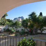 Villa in Calpe (Costa blanca) situated only 2,5 km from the Levante beach, supermarkets, built on one floor.