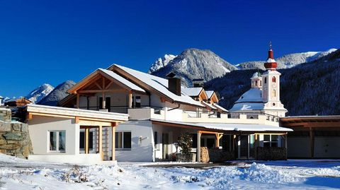 We invite you to enjoy our two newly-built and individually designed houses with three different sized apartments. Have a peaceful, relaxing holiday in the East Tyrolean Mountains, surrounded by the Dolomites of Lienz and the imposing massif of the S...