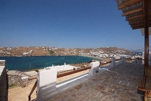 Maisonette 200 sqm in a unique location, close to Chora and walking distance by the sea. It has 5 bedrooms, pool, big balcony with great sea view.