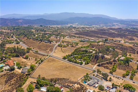 """As they say, """"They Aren't Making Any More of This"""" Beautiful 5 Acre Parcel on Paved Street Close into Town in the Temecula Wine Country. Gentle parcel with amazing potential. 5.04 Gross/ 4.64 Net"""
