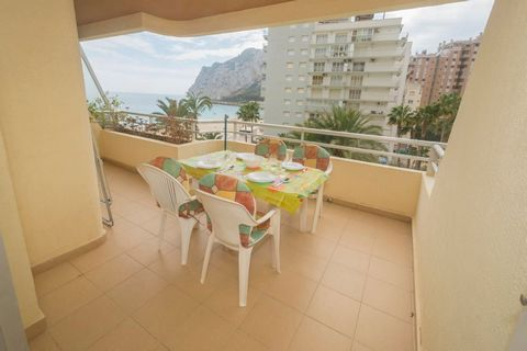 Winter offer (October to May). from 2 months, € 550 / month + electricity. Winteraanbieding (oktober tot mei). vanaf 2 maanden € 550 / maand + elektriciteit. Nice apartment Apartment located on the 4th floor of the Turmalina building in Calpe. On the...