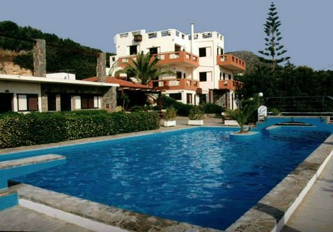 Located in Agios Nikolaos. This tourist complex of 12 apartments, bar/snack, childrens play area, large, decorative swimming pool of 90sqm and sunbathing area are surrounded by 5000sqm of beautiful gardens. The complex is situated a 15 minute walk fr...