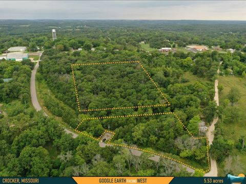 Located in Crocker. Cheap Land In Missouri – Carve Out a Countryside Life in the City If you're ready to get away from all the stresses of urban life, cut out a little slice of country for yourself here in Crocker, Missouri. Here you'll experience th...