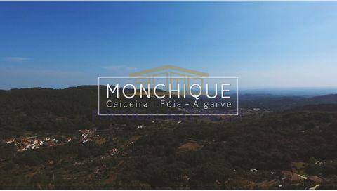 Terreno em Monchique para construção de moradia de 300 m2 de 1 piso e piscina. Categoria Energética: Isento #ref:PBI-786
