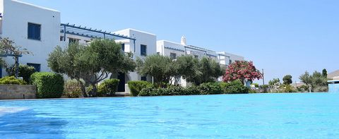 Beautifully designed in true Cycladic style architecture, built with Leptos' top quality construction standards. This is a 2 bedroom Apartment with magnificent sea view. The property has 2 spacious bedrooms with bathroom and an open plan kitchen with...