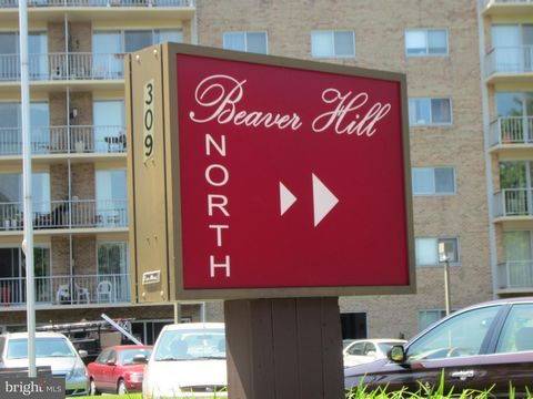 North Building 2BR, 2BA condo in the heart of Jenkintown at popular Beaver Hill Condominium. This 4th Floor condo is bright and comfortable with a balcony! There is more than ample closet space in the unit and a spacious storage unit on the lower lev...