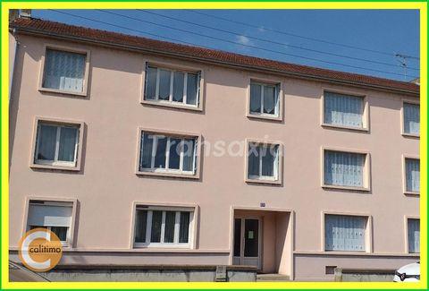 Dans Montluçon, proche des berges du Cher et du centre ville, dans quartier agréable, APPARTEMENT lumineux de 65 m² habitables à rénover. Appartement