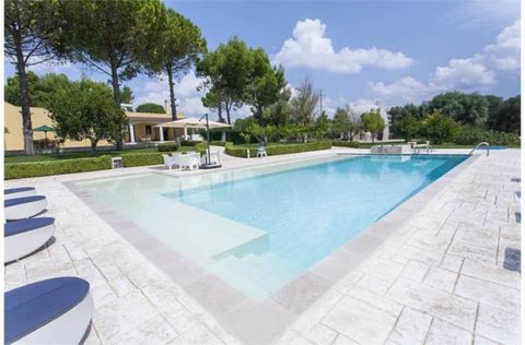 The villa is a beautiful luxury modern property in the charming countryside of northern Salento, few km from the medieval town of Oria, 35 km from Brindisi International airport and 20 minutes from beaches along the Ionian coastline. Accessed through...