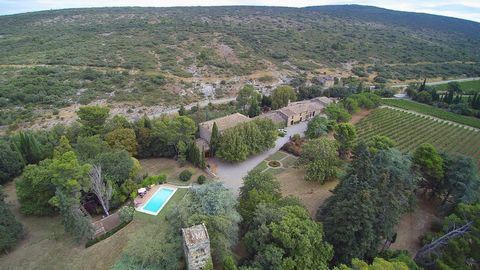 Beautiful 91 hectare estate in the heart of the Corbieres mountains. This beautiful wine growing property is situated near a peaceful village in a pretty valley in the heart of the Corbieres Massif. The estate is located about 15 min from the motorwa...