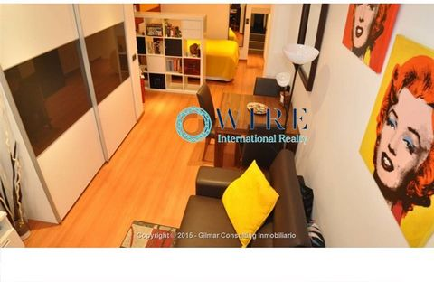 For sale in the heart of the capital city e nice studio newly renovated, fully equipped. Very bright thanks to the front window of the room. The kitchen and bathrooms also have windows. The area is excellent and the street is very quiet at all hours....