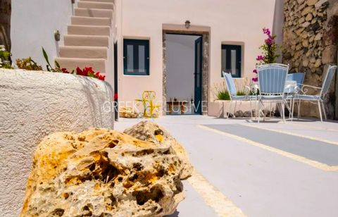 The cave house dating back the years 1800 and is located few minutes' walk from Fira town and few more steps to Firostefani center. This house of 55 sqm, which features a single large spaced interior with a living room and a fully equipped kitchen. O...