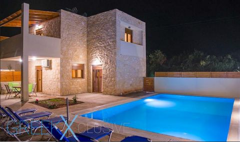 Three impressive stone villas are located a short distance from the seaside village of Bali and 1.5 km from its sandy beach. Located in Bali Crete, between Rethymno & Heraklion. Price is for one villa. They're located in a very quiet area, surrounded...