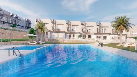 Kiruna Hills is a residential complex located in Alenda Golf, just 10 minutes from Elche, and 15 from Alicante and its beaches.This beautiful residential complex is made up of 3-bedroom townhouses, which will allow you to choose between a model with ...