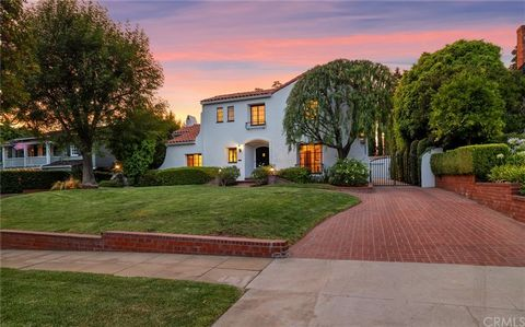 Indulge in Spanish-style elegance when you step into this South-Facing San Marino residence where high-end finishes and stunning interior detail are on show throughout! Make your way up the inviting brick pathway to the gorgeous exterior that exudes ...