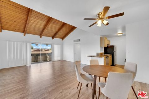 Come experience this exceptional, recently remodeled, top floor, move-in ready 3 bedroom 2 bath condo in the heart of Canoga Park. Set back off the street, with views of the mountains, this unit gets plenty of light and has an open floor plan consist...