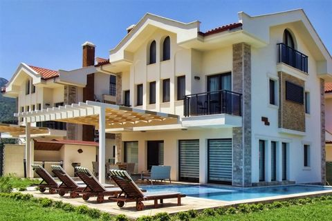 Dalaman, in the wonderful touristic town of Dalyan, visited every year by thousands of tourists, incredible investment opportunity!! Complex of four luxury Villas for sale, with total price of 820.000 €! 2100 m2 of land, private pool, garden, top qua...
