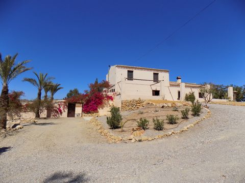 We have the pleasure to bring to the market this traditional four bedroom, three bathroom, traditional Spanish cortijo with a separate annex.  It is set in a quiet corner of eastern Almeria, with views across the desert landscape, to mountains in the...