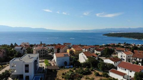 New construction semi-detached house on the island of Krk in Njivce. The houses have a separate air conditioning pool as well as parking and garden. The houses were built in solid construction and built according to the most modern standards. Locatio...