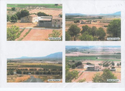 Finca for sale in stunning Villena, Alicante, Spain Euroresales Property ID – 9825875 Land/Property Overview Due to its location in the breath-taking Spanish rural countryside, this land offers limitless opportunity and freedom. The land (Finca) is 1...