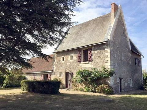 Near Amboise and 5mins from the pleasant little town of Montrichard, in a quiet spot, a 16th c. priory (approx. 150m² of living space on approx. 2800m² of land), located in the country a walking distance from a forest. It has 3/4 bedrooms and a conve...