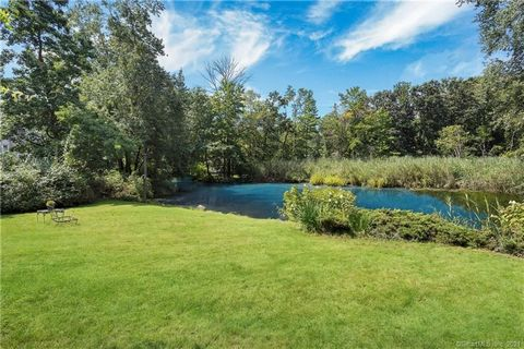 --A PRIVATE WORLD OF YOUR OWN! Solitude, wild life, a quiet pond, privacy, a peaceful setting all are a part of this very special enchanting Tokeneke property! Cherished and enjoyed by the present owner for over 60 years, this home features large mai...