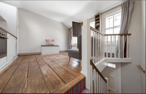 A charming and very unique one bedroom mews house located within a cobbled mews close to Grand Union Canal, very rare to the market. Upon entering the ground floor you will find a double bedroom and modern bathroom with storage under the stairs. On t...