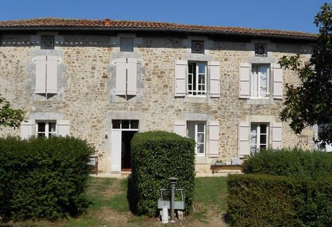 Our ref- AI4667 This beautiful gite complex consists of a large Charentaise house with 2 spacious gîtes, a detached cottage and a large barn. There is also a good size in ground swimming pool, located in a beautiful garden with various flowers and fr...