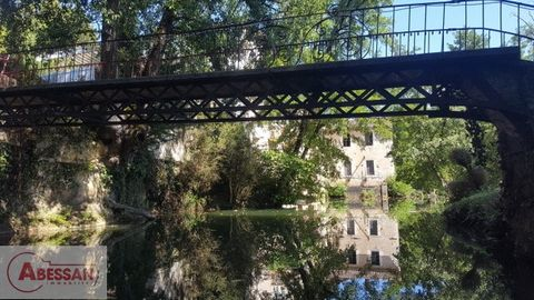 Castres (81) for sale Chateau. Between modernity and tradition. This set is made up of a mansion and various buildings. The style is similar to the Venetian Baroque era with the addition of an old mill and its waterfalls. You are located between Bord...