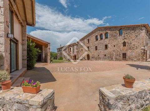 This magnificent fortified Girona country property to buy is situated just 15km west of the historic city of Girona and sits in 13 hectares of private land - approximately 1km of which borders the River Lleména. The property is officially listed as a...