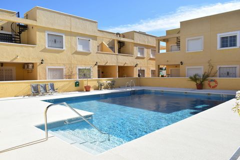 This is a wonderful two bedroom, one bathroom pool side apartment, with secure parking and enjoying a private terrace and views of the small, well maintained community of Las Terrazas, in the coastal town of Palomares, meaning you are within walking ...