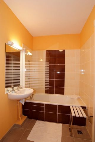 Situated in Ax-Les-Thermes, Pyrenees, France in the valley of Ariege on the borders of Spain and Andorra, Le Domaine de la Vallee d'Ax offers a fantastic setting for a holiday resort. The residence offers 5 chalet and was built in an authentic mounta...