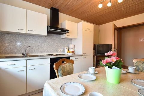 This cozy apartment is located in Gleißenberg, Germany. There are 2 bedrooms where 4 people can stay, ideal for a family. Moreover, it is allowed to bring a pet. The apartment is located in a beautiful wooded area. The many hiking trails invite you t...