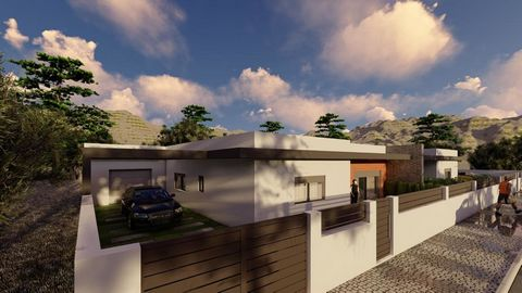 Semi-detached single-house house under construction, modern and quality finish. REF:1072-03623
