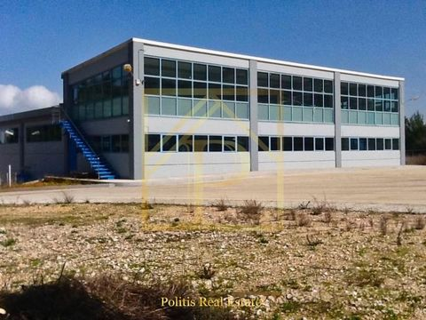Warehouse for sale, Malakasa, Greece. It is a 3850m2 facility (less than 15 years old) pre-cast concrete, on a 5.5 stremma piece of land. It's a AAA storage building, and we built it ourselves. We're interested in selling it. Market value pre-gree...