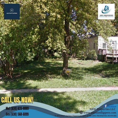 Located in Springfield. Parcel Number: 14-35.0-201-050 Property Address: 2221 E. Adams St., Springfield, IL 62703 County: Sangamon Lot: 6011.28 sq ft Type: Vacant Land Market Value: $4,113.00 Deed will be transferred as a SPECIAL WARRANTY DEED. Forms...
