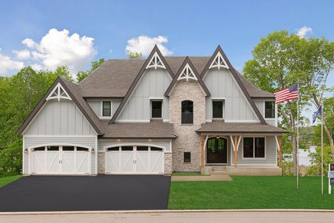 Just Completed! Gonyea Homes Presents This Magnificent St. Croix Custom Home Set On A Landscaped Yard Adjacent To Halstead'S Bay! Breathtaking Vistas Of Lake Minnetonka From All Major Rooms! Towering Two-Story Walls Of Sun-Filled Glass in The Kitchen...