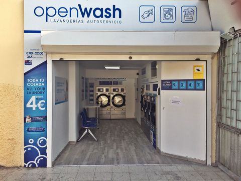Business opportunity! New 24/7 self-service laundry in the center of Playa del Ingles in front of the Mercurio Building. Traspaso 120,000, - € Optional monthly rent 2,500, - €[IW]