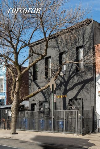 Welcome to 277 Starr Street located in the heart of Bushwick Brooklyn; a short distance from nightlife, restaurants, coffee shops. (APARTMENT #1) ? This charming one bedroom one bathroom apartment features brand new hard wood floors, and a newly ador...