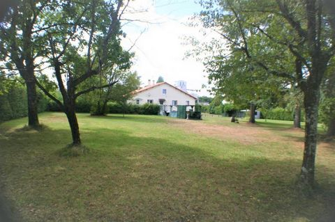 Our ref- AI4654 This attractive modern property is situated on the outskirts of a beautiful river side charentais village. It is within walking distance of a pituresque chateau, bars,restaurants, and other amenities. The market town of Ruffec with it...