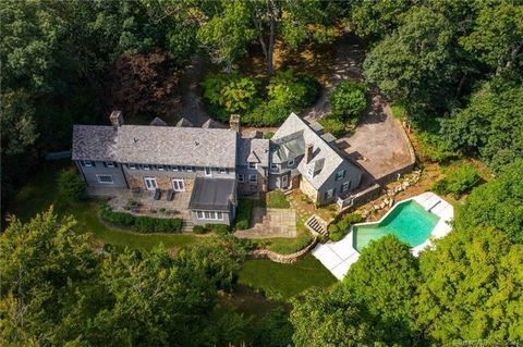 If you love a house with history, this gracious 1929 Cotswold-style home has a wonderful & storied past. Built and originally owned by philanthropist Ogden Ludlow, husband to the great actress Katharine Hepburn, this house is only now available for t...