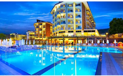 Stunning 2 Bedroom Apartment in Ramada Resort Kusadasi Euroresales Property ID- 9825382 Property and Resort Information: A two bedroom apartment which has in the main room a large super kingsize bed and a double sofa bed. There are tea/coffee making ...