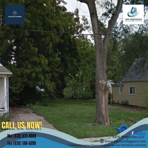 Located in Springfield. Parcel Number: 14-27.0-258-008 Property Address: 826 N 11th St, Springfield, IL 62702, USA County: Sangamon Lot: 5837.04 sq ft Type: Vacant Land Market Value: $4,182.00 Deed will be transferred as a SPECIAL WARRANTY DEED. Form...