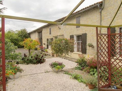 This spacious south facing property is located in a small quiet hamlet just 5 mins from the market town of Lezay. It offers a spacious 247m2 of habitable space over 2 levels comprising Grd Floor: Large entrance hall 20m2 with tiled floor, Fitted kitc...