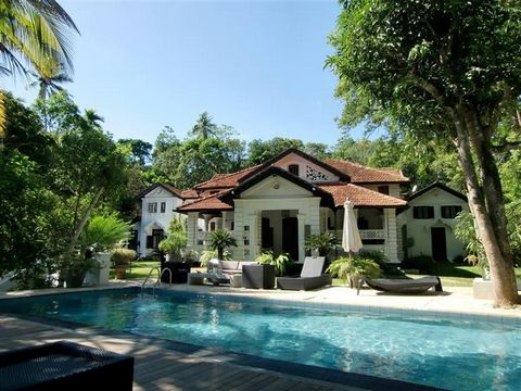 Luxury 7 Bedroom Walauwa with Land in Sri Lanka Euroresales Property ID – 9825018 Property information: This property is an excellent 7-bedroom Colonial 19th Century Dutch Walauwa located in the south coast of Sri Lanka. The property consists of 6 en...