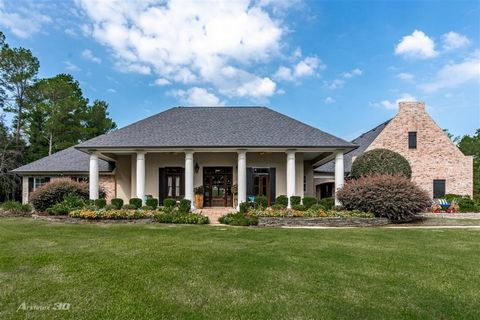 Prestigious home located in S. Shreveports Birnam Woods - Situated perfectly on a 2.6 acre estate, outside of the city limits, Captain Shreve High School and Youree Dr. Middle School - Open floor plan w/ extra amenities throughout - Beautiful gourmet...