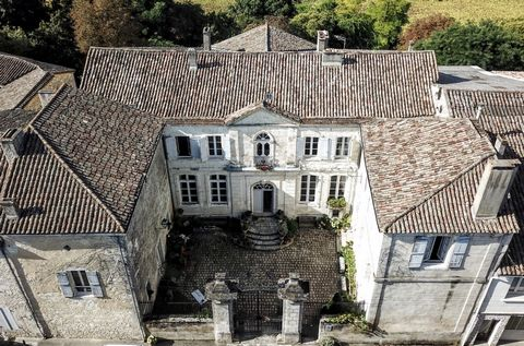 Built in 1770 on the ruins of a medieval castle and forming an interior courtyard the elegant 18th century property is in the heart of a medieval bastide town 20 minutes south of Bergerac. 13th medieval chateau designed by louis victor famed for the ...