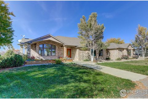 BACK ON THE MARKET! Refinished Hardwood Floors, Carpet Replacement, Touch Up Paint, New Refrigerator, Fresh and Clean! Breathtaking Views await you on this 36 Acre Irrigated Property with Custom Home with Walkout Basement. Covered Pavillion great for...