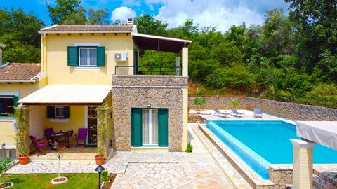 Do you dream of a house in Corfu? We have a special offer for you!For sale a 100 sq.m. villa set on a fenced plot of 500 sq.m.The villa was built in 2012. High quality, modern materials, local stone and cypress tree, were used for the construction,...
