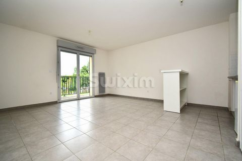 Ref. 117SR: Saint Genis Pouilly, close to all amenities, in a quiet residence, you will be charmed by this one-bedroom apartment of 41m2 located on the 1st floor of a building built in 2012. It consists of an open semi-equipped kitchen onto a living ...